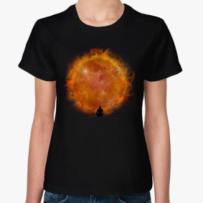 Женская футболка Звезда по имени Солнце