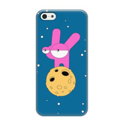 Чехол для iPhone 5/5s Лунные кроличьи настроения