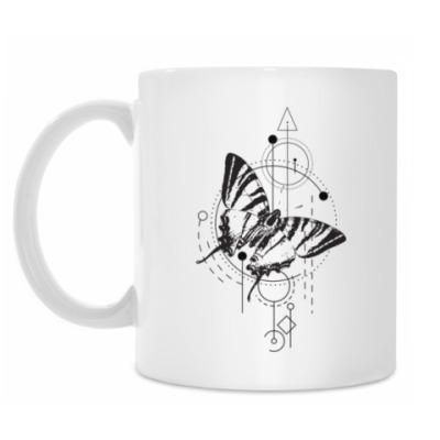 Кружка Бабочка и геометрия