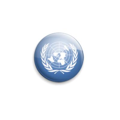 Значок 25мм United-Nations