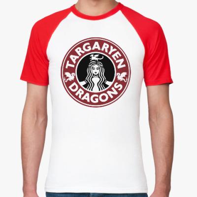 Футболка реглан Драконы Таргариен