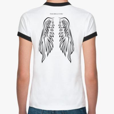 Женская футболка Ringer-T Para bellvm wings