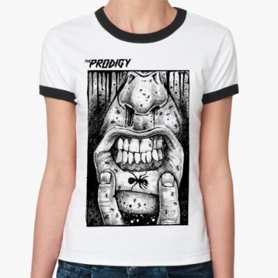 Женская футболка Ringer-T   The Prodigy