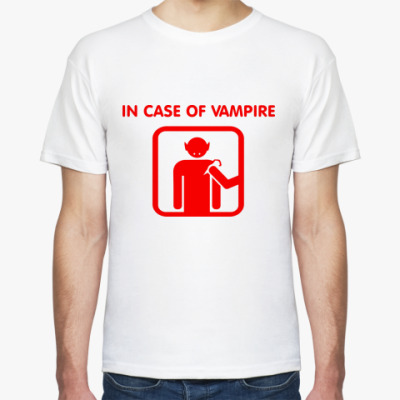 Футболка In Case Of Vampire