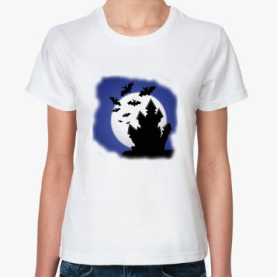 Классическая футболка Замок Дракулы