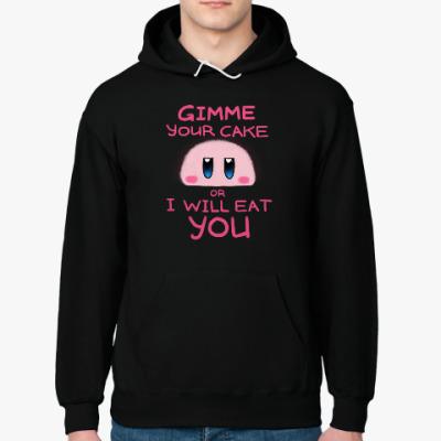 Толстовка худи Kirby: Cake or Life