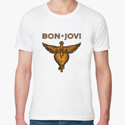 Футболка из органик-хлопка Bon Jovi