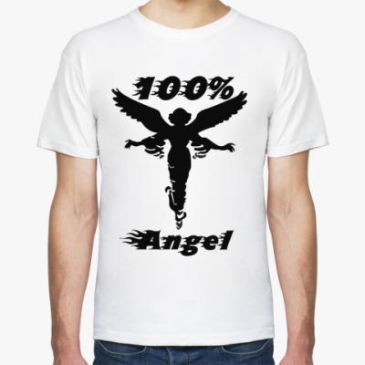 Футболка 100% angel