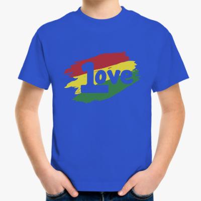 Детская футболка 1 Love