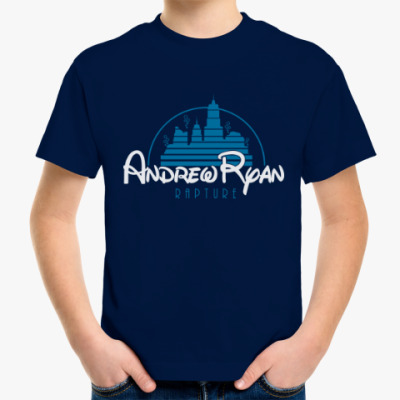 Детская футболка BioShock Andrew Ryan