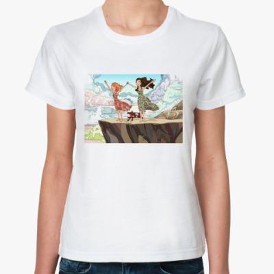 Классическая футболка Девочки