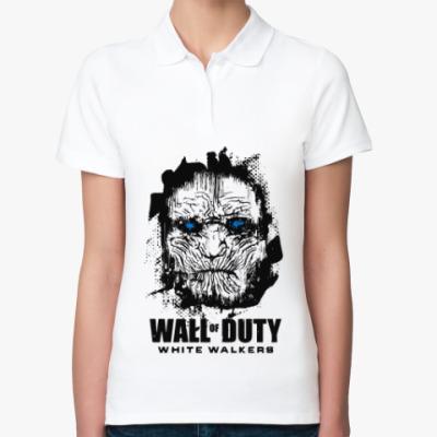 Женская рубашка поло Белые ходоки Игра престолов