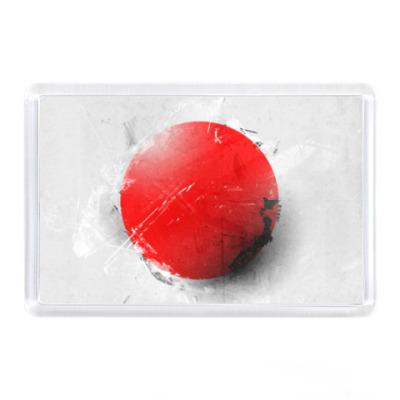 Магнит Флаг Японии