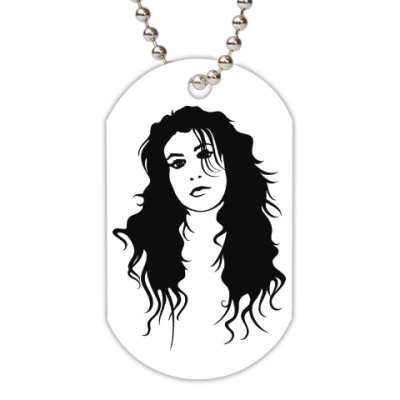 Жетон dog-tag Amy Winehouse
