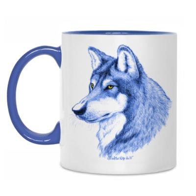 Кружка 'Лесной волк'