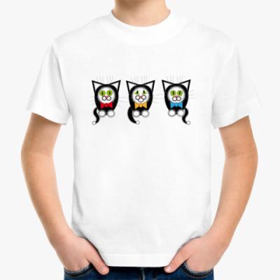 Детская футболка Кошачий хор