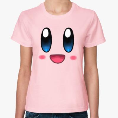 Женская футболка Kirby
