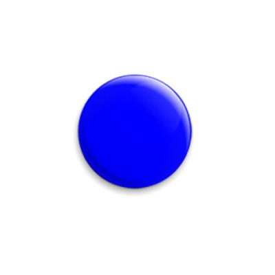 Значок 25мм  25 мм «Blue»