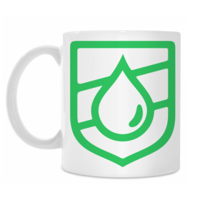 Кружка Droplet Emblem