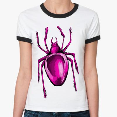 Женская футболка Ringer-T паук