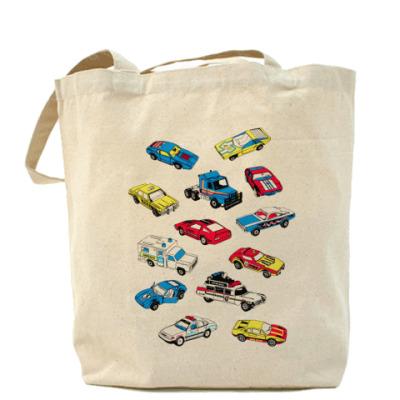 Сумка Cars Холщовая сумка
