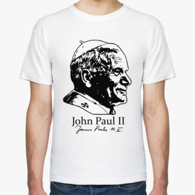 Футболка John Paul II