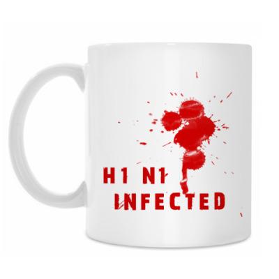 Кружка H1N1 Infected