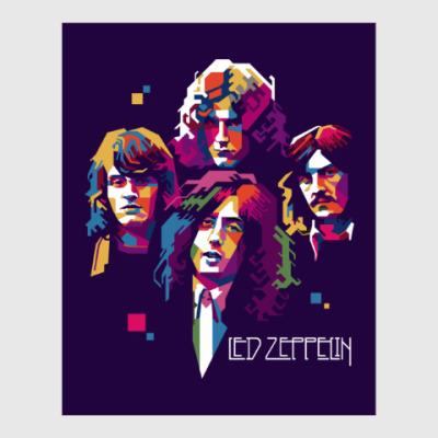 Постер Led Zeppelin