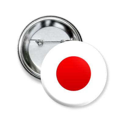 Значок 50мм Япония, Japan