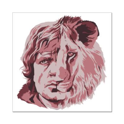 Наклейка (стикер) Тирион лев