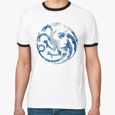 Футболка Ringer-T Khaleesi and Dragons