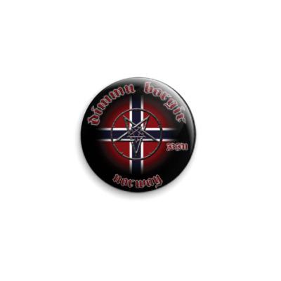 Значок 25мм  Norway Dimmu Borgir