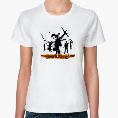 Классическая футболка Офисный Планктон