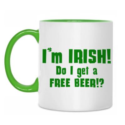 Кружка I'm Irish
