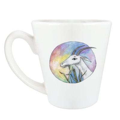 Чашка Латте Коза