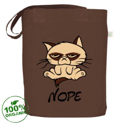 Сумка Недовольный кот ( Grumpy cat )