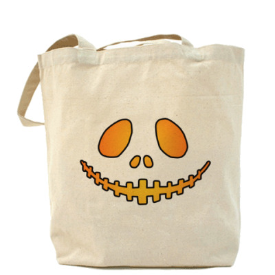 Сумка Helloween Smile Холщ сумка