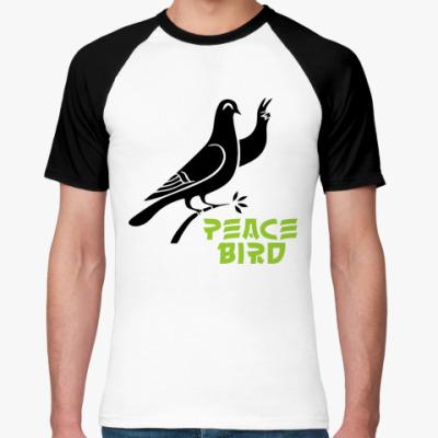 Футболка реглан Peace Bird