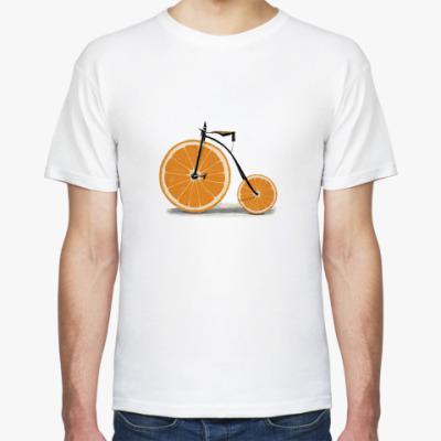 Футболка Апельсиновый велик
