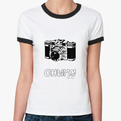 Женская футболка Ringer-T Сниму