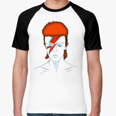Футболка реглан David Bowie