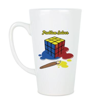 Чашка Латте Кубик Рубика | Rubiks Cube