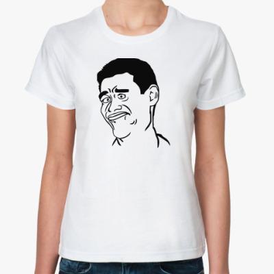 Классическая футболка  Яо Минг губки