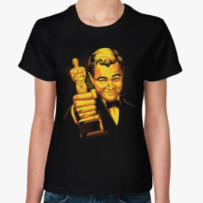 Женская футболка Ди Каприо