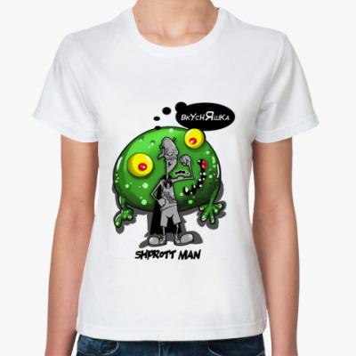 Классическая футболка Человек-Шпротт