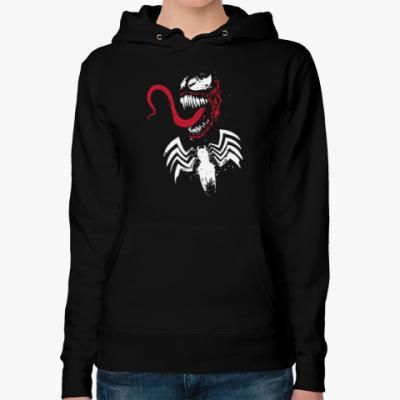 Женская толстовка худи Venom (Веном)