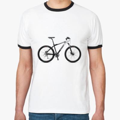 Футболка Ringer-T Велосипед