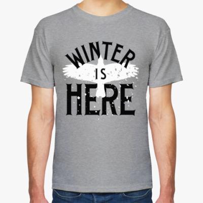 Футболка Winter is here