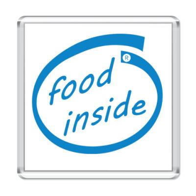 Магнит food inside