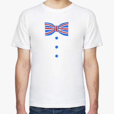 Футболка Бабочка британский флаг